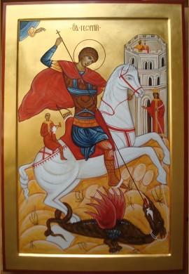 św. Jerzy ikona3