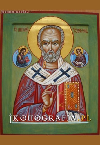 ikona św. Mikołaja- ikonografia.pl