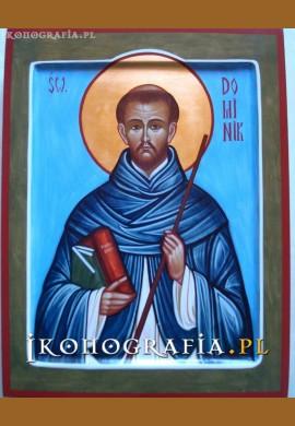 św. Dominik Guzman ikona