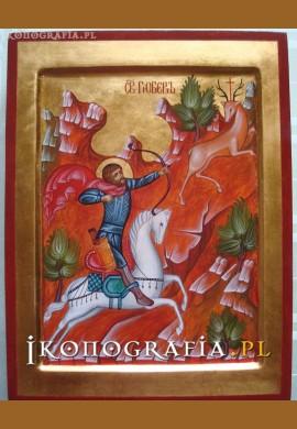 św. Hubert ikona