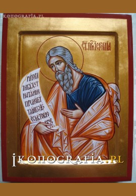św. Jeremiasz ikona