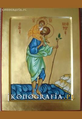 św. Krzysztof ikona