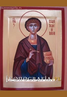 św. Pantalejmon ikona