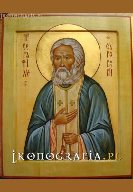 św. Serafim Sarowski ikona