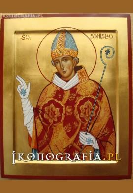 św. Stanisław ikona