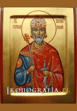 św. Stefan I Węgierski ikona