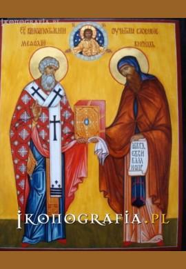 św. Cyryl i Metody ikona