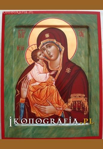 Matka Boża Akatystowa Chilandarska ikona