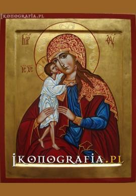 Matka Boża Poszukiwanie Ludzkich Serc ikona