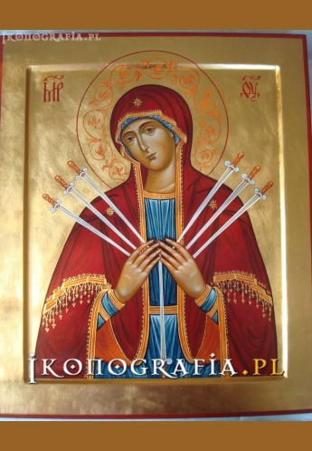 Matka Boża Zmiękczenie Ludzkich Serc ikona