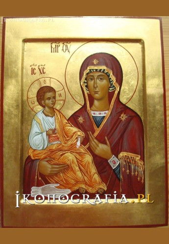 Matka Boża Trójręka ikona