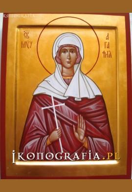 św. Agata ikona