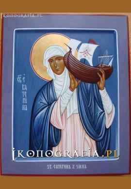 św. Katarzyna ze Sieny ikona