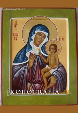 św. Klara ikona