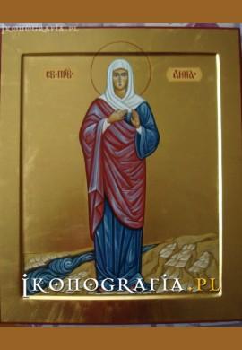 św. Anna sprawiedliwa ikona