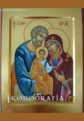 św. Rodzina ikona2