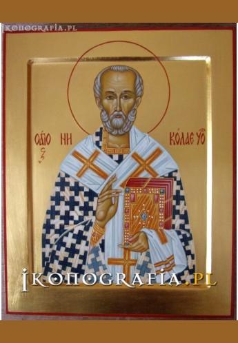 ikona św. Mikołaja - Ikonografia.pl