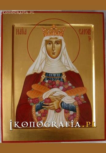 Ikona pisana św. Elżbieta - Ikonografia.pl
